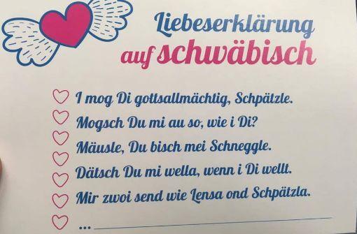 Valentinstag Auf Schwäbisch: Wenn U0027s Leba A Fescht Isch   Stuttgart    Stuttgarter Zeitung