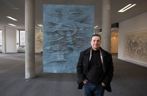 Künstler Stuttgart ausstellung im wilhelmspalais harte arbeit ist den bildern nicht