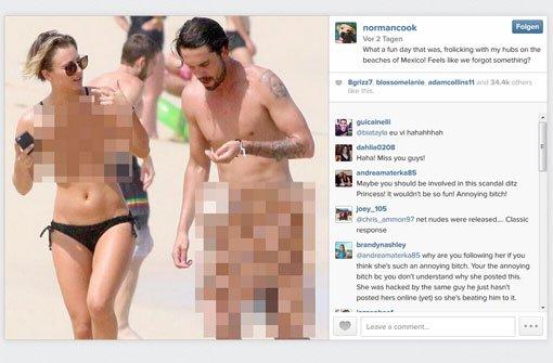 Kaley cuoco beweist humor sie postet ein nacktbild von - Fotografia desnudo masculino ...