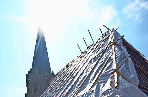 rutesheim ein pilz frisst dachstuhl der johanneskirche landkreis b blingen stuttgarter zeitung. Black Bedroom Furniture Sets. Home Design Ideas