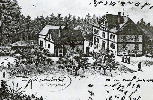 125 Jahre Katzenbacher Hof Das Haus Im Wald Feiert Stillen Geburtstag Vaihingen Stuttgarter Zeitung