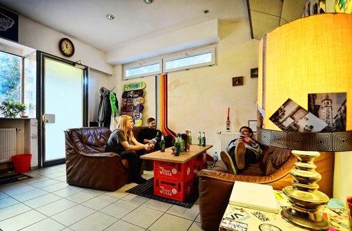 Stuttgarter Wohnzimmer Aus einer Bäckerei wird das Bäcks