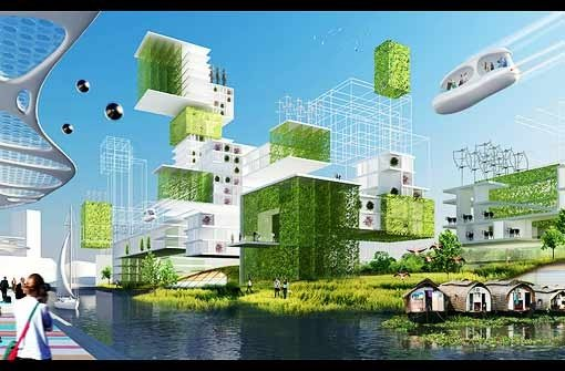 Neue stuttgarter innenstadt drei visionen f r die city stuttgart 21 stuttgarter zeitung - Futuristische architektur ...