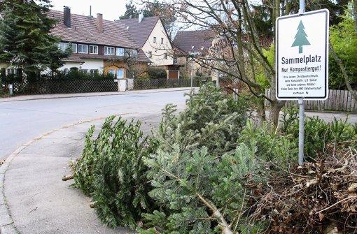 Blaulicht aus der Region Stuttgart : 11. Januar: Mit Weihnachtsbäumen von ... - Stuttgarter Zeitung