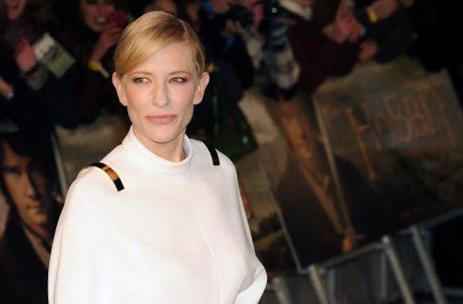 Cate Blanchett, die die ElbenKönigin Galadriel spielt