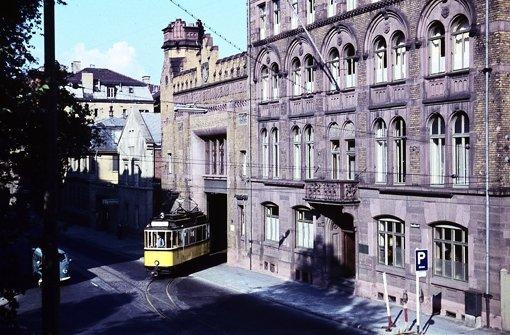 Marienplatz das fast vergessene depot stuttgart s d for Depot feuerbach