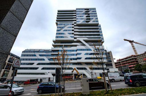 Luxusturm In Stuttgart Hotel Im Cloud Hochhaus In Neuer Hand