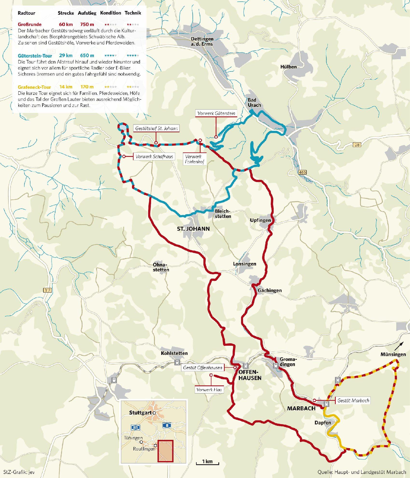 500 Jahre Gestüt Marbach: Wo Die Edlen Pferde Wohnen