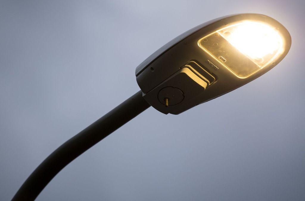 Statt Natriumdampf Hochdrucklampen Gibt Es In Rutesheim Immer Mehr LED Technik.  Foto: