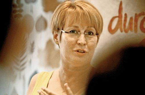 Barbara Oehl-Jaschkowitz berichtet von ihren Erfahrungen. Foto: Stoppel