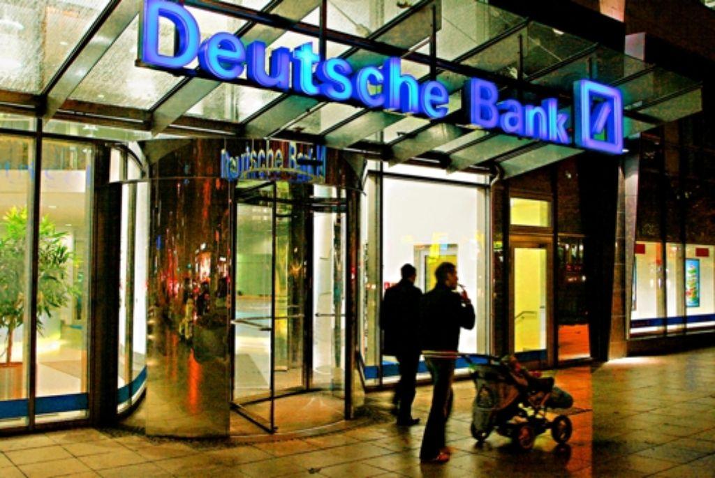 Privatkundengeschaft Deutsche Bank Lost Konten Auf Wirtschaft Stuttgarter Zeitung