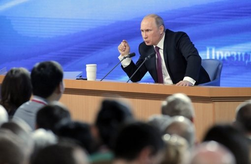 Putin kritisiert West-Politik