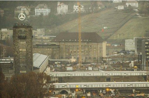 Ab Januar wird am Bahnhof betoniert