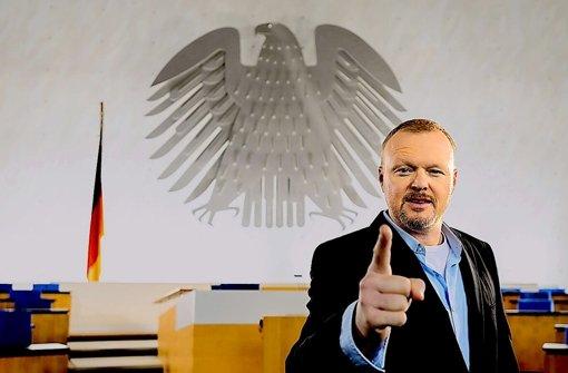 Der Entertainer als Polittalker: Stefan Raab Foto: Pro Sieben