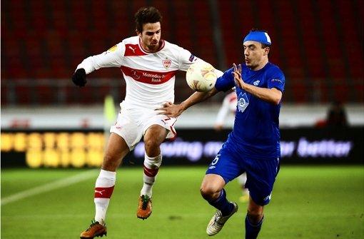 Der VfB Stuttgart erwartet gegen Genk 15 000 Zuschauer – und das ist noch optimistisch geschätzt. Foto: Baumann