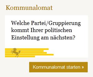 Kommunalomat zur Wahl in Stuttgart