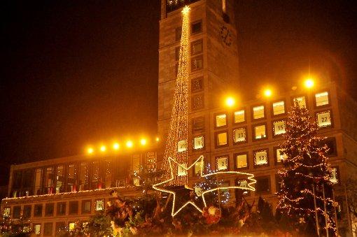 Weihnachtsmarkt in Stuttgart ist eröffnet