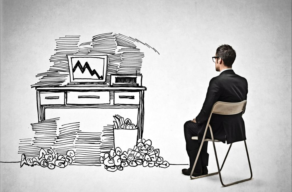 Ordnung Am Arbeitsplatz Sieben Tipps Gegen Das Buro Chaos Wissen Stuttgarter Zeitung