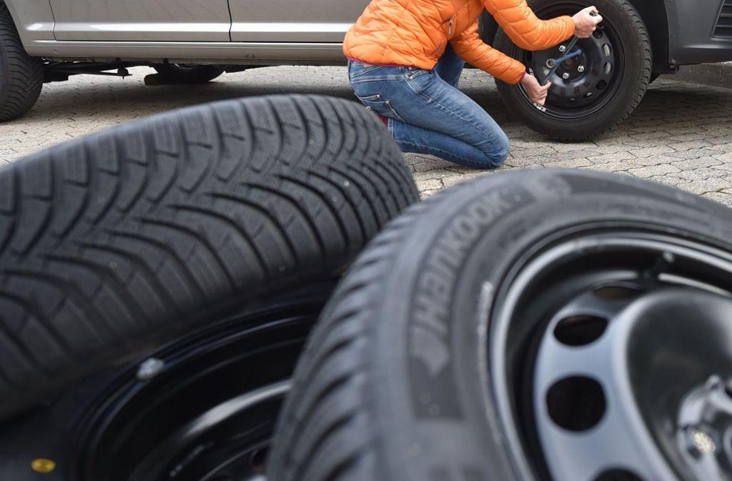 Deizisau - Diebe stehlen Hunderte Reifen - Stuttgarter Zeitung
