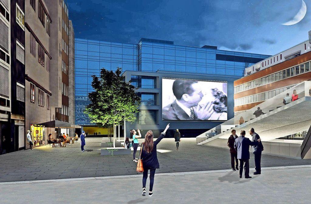 Oppenheimer Platz In Stuttgart Wird Ein Open Air Kino Den Gedenkort