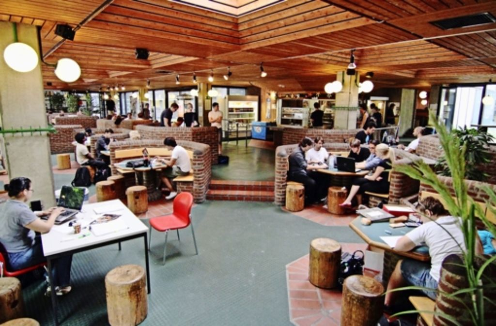 campus stuttgart vaihingen neues design f r die uni cafete vaihingen stuttgarter zeitung. Black Bedroom Furniture Sets. Home Design Ideas