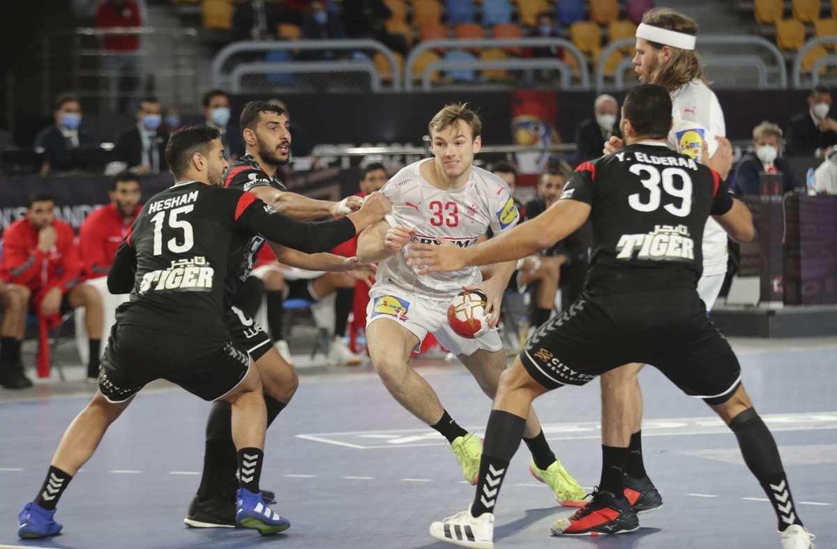 Handball-WM in Ägypten: Dänemark nach Handball-Krimi im Halbfinale - Spanien trumpft auf