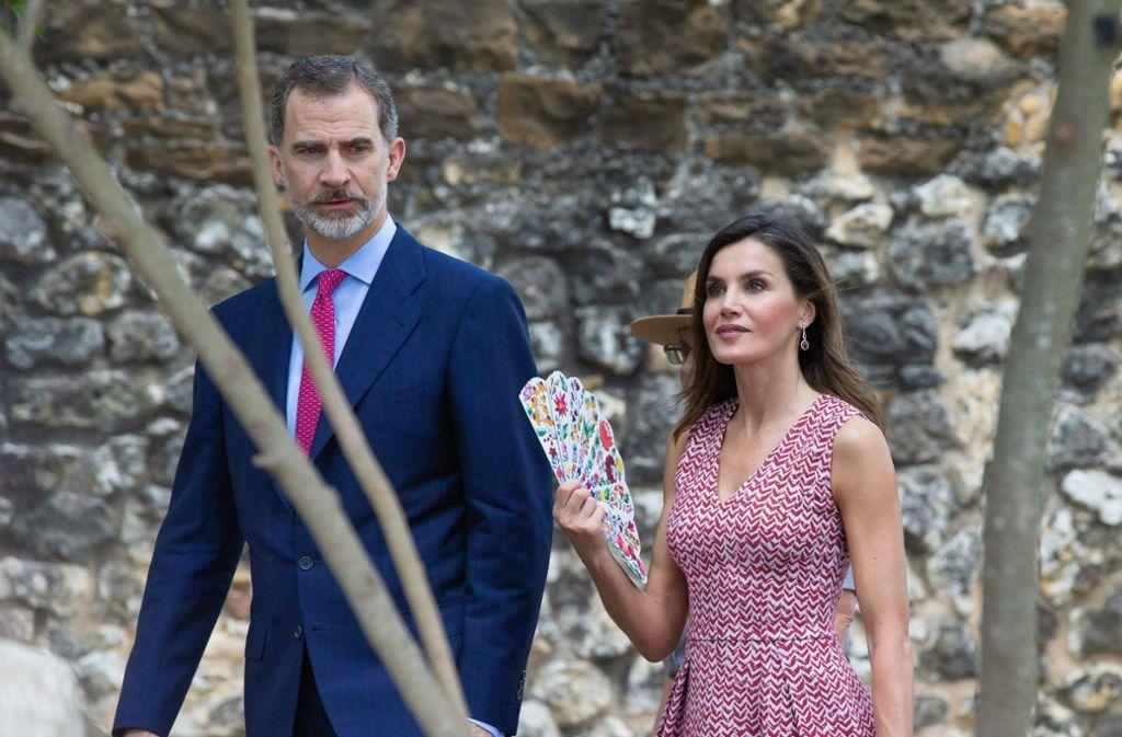 Spaniens Felipe Und Letizia In Den Usa Ganz Weit Weg Vom ärger Zu