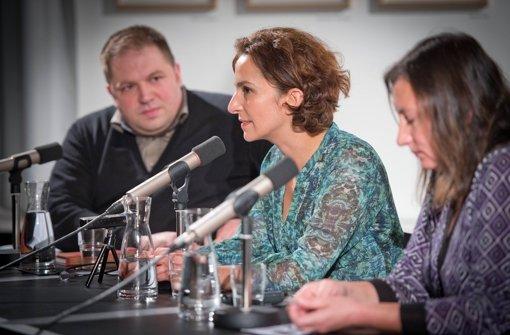 Zwei Schriftstellerinnen zu Gast Foto: Martin Stollberg