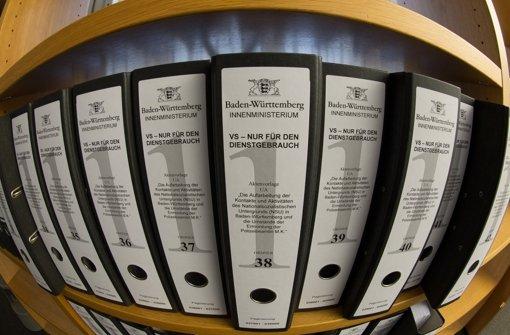 Zahlreiche Akten, aber wenig Antworten: Der NSU-U-Ausschuss hat seine Arbeit beendet. (Archivfoto) Foto: dpa