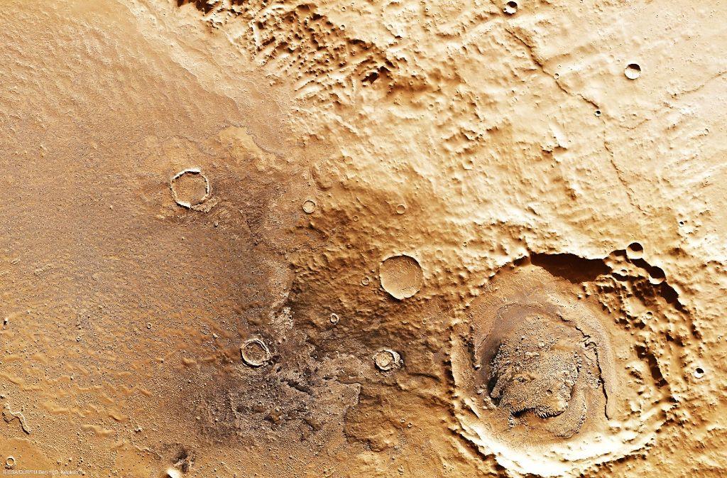 Raumfahrt Dein Erster Mars Besuch Wissen Stuttgarter Zeitung