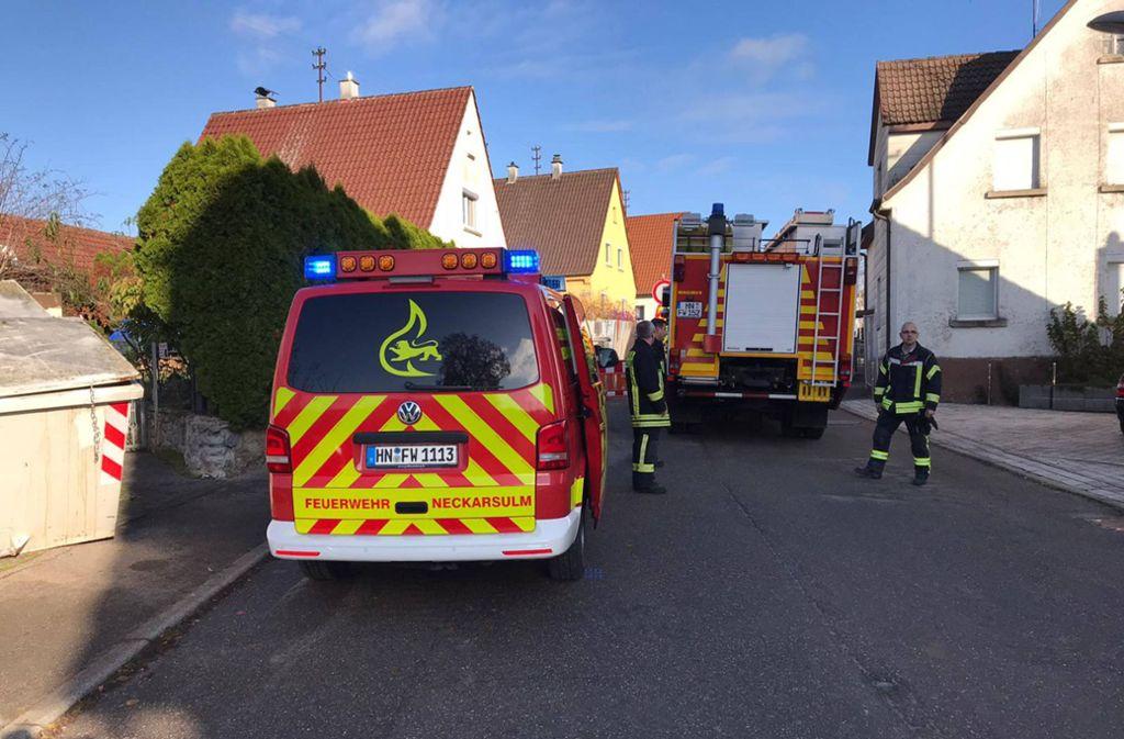 Explosionsgefahr in Heilbronn - 20 Häuser wegen Gaslecks evakuiert - Stuttgarter Zeitung