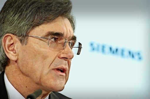 Aktionäre verlieren die Geduld mit Siemens-Chef