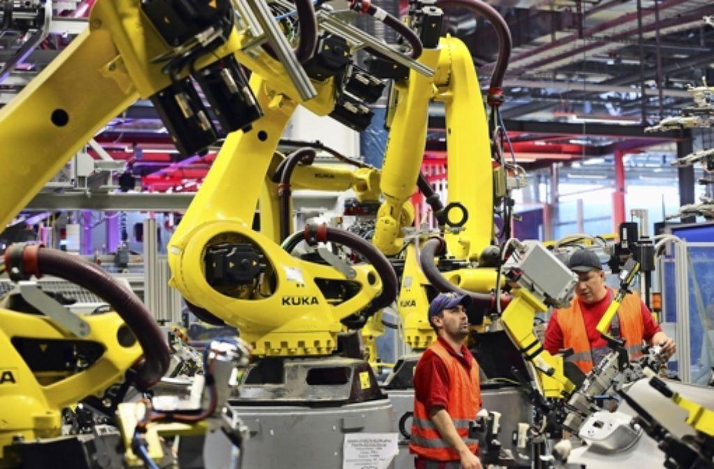 Industrie 4 0 Keine Angst Vor Dem Roboter Wirtschaft Stuttgarter Zeitung