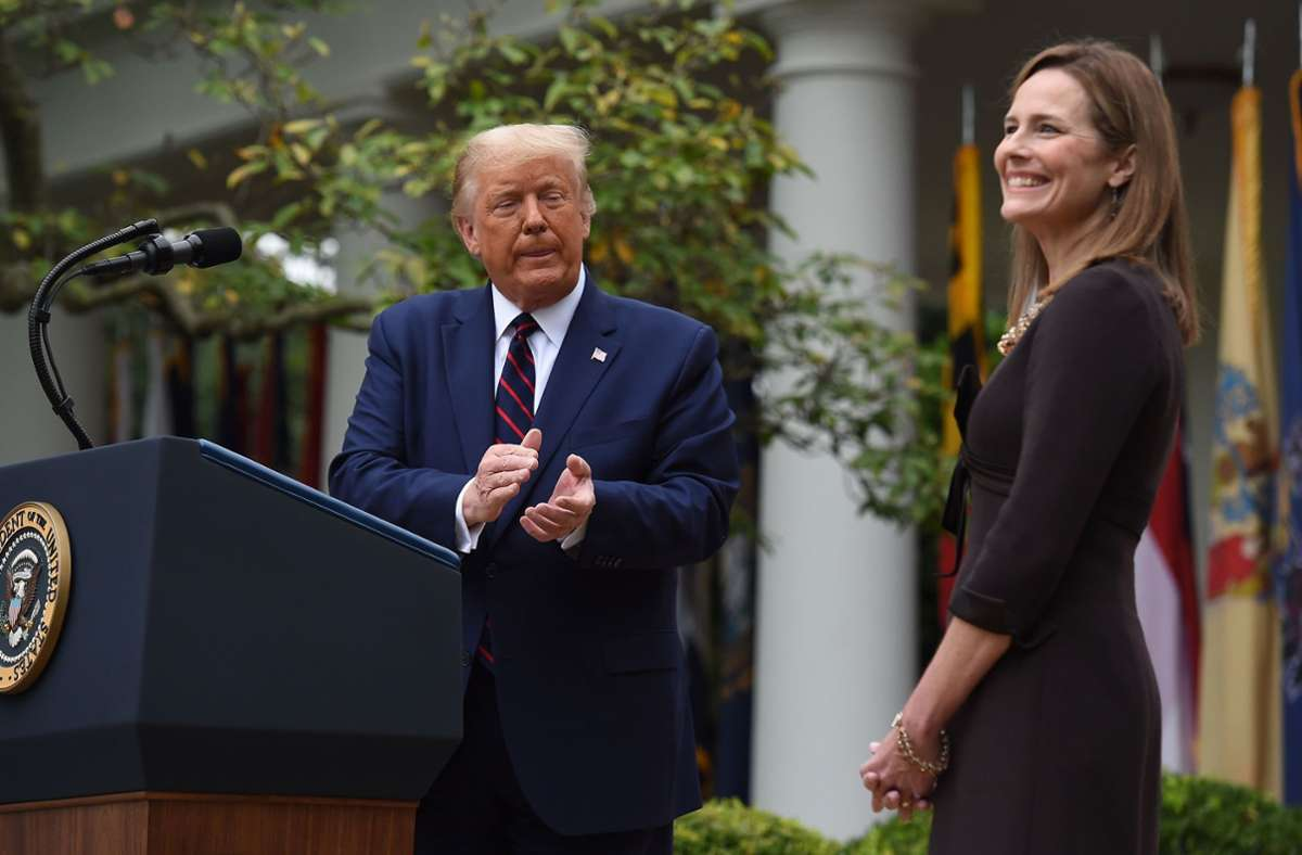 Donald Trump nominiert konservative Richterin für Supreme...