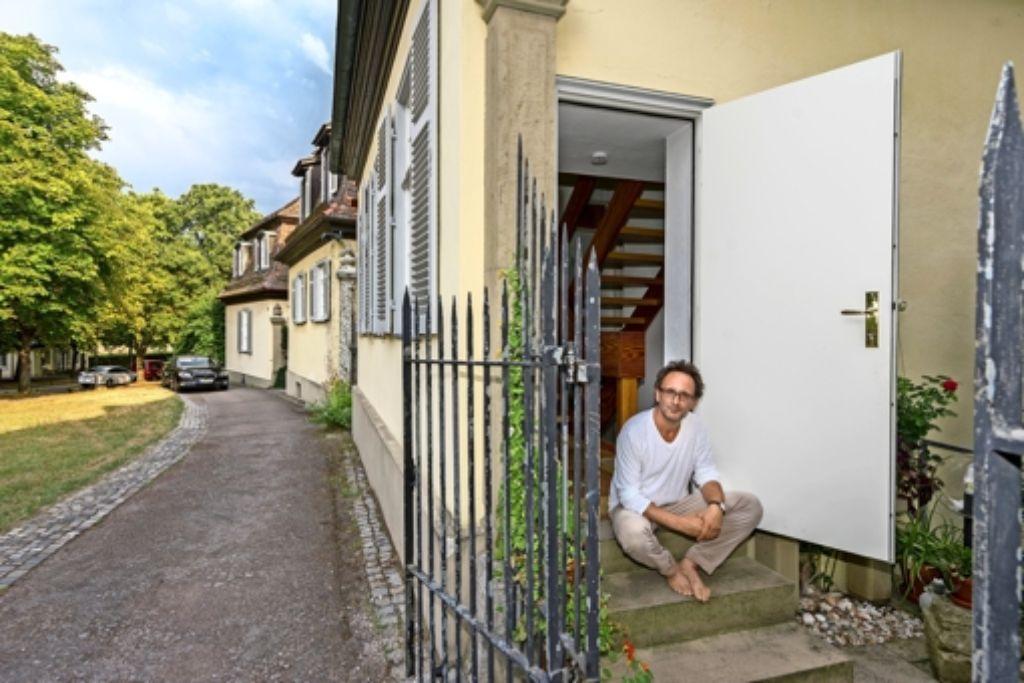 sommerserie solitude so wohnt es sich als schillers nachmieter landkreis ludwigsburg. Black Bedroom Furniture Sets. Home Design Ideas