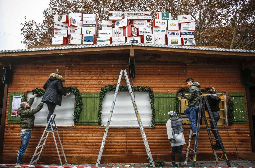 Eröffnung Weihnachtsmarkt Stuttgart 2019.Stuttgarter Weihnachtsmarkt Das Müssen Sie Zum Weihnachtsmarkt