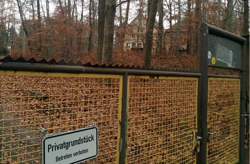 Abrisshaus wird winterfest gemacht