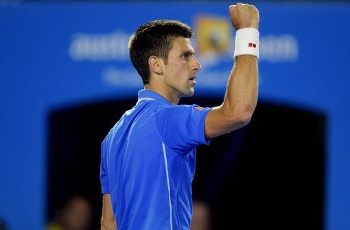 Novak Djokovic holt sich den Titel
