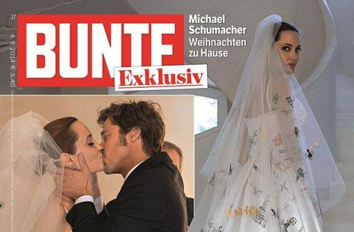 Angelina Jolie und Brad Pitt: So sieht das Brautkleid aus - Panorama ...