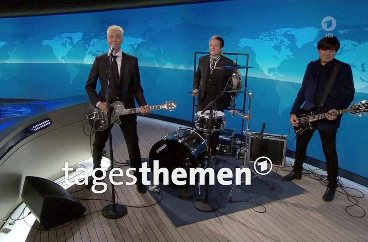 "Ärzte-Auftritt in den ARD-""Tagesthemen"": Berliner Rockband appelliert in Corona-Krise an Politik"