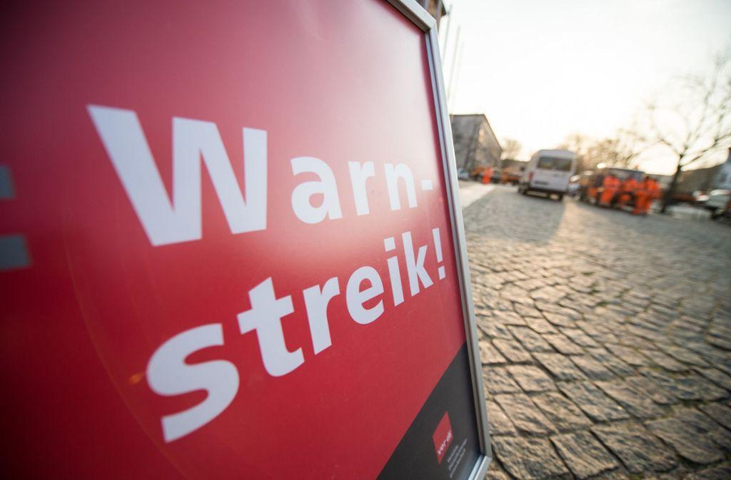 Warnstreiks Im Rems Murr Kreis Kitas Werden Bestreikt Mullabfuhr