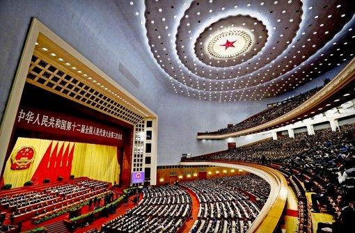 Chinas Führung schraubt Ziele nach unten