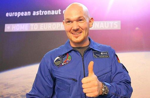 Alexander Gerst wird Ehrenbürger