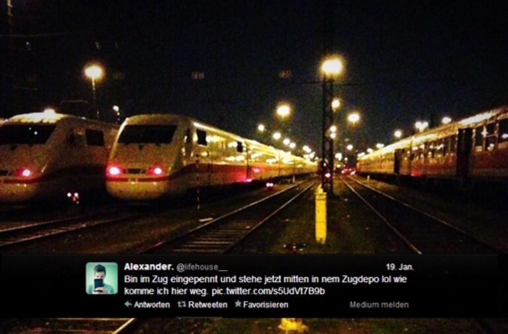 Tweet Aus Stuttgarter Bahndepot Jetzt Ermittelt Die