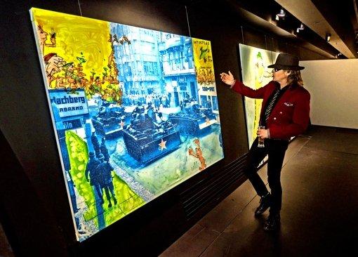 Udo-Schau im Porsche-Museum
