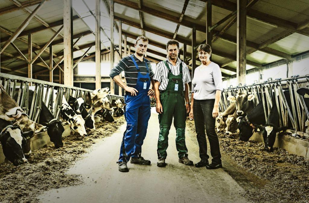 Junger landwirt bei der arbeit  Landwirtschaft: Wachstum auf Gedeih und Verderb - Baden ...