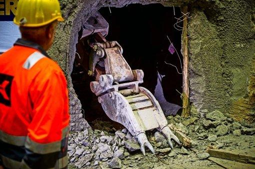 Tunnelbauer feiern doppelt