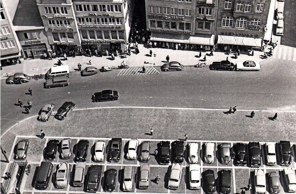 Parkplatz Stuttgart Mitte