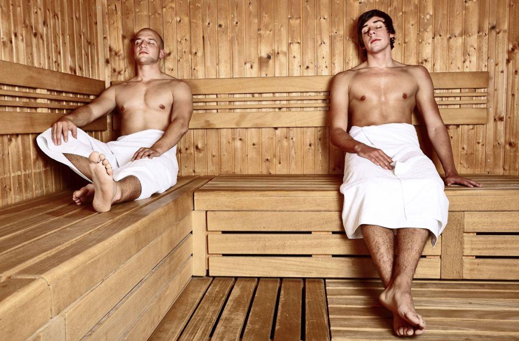 Gemischt sauna Sauna