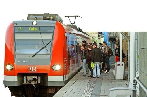 Gibt es eine Chance für die S-Bahn nach Calw?